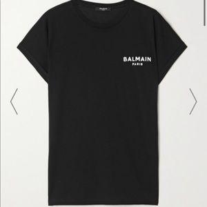 Balmain Paris cotton t shirt